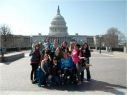 In 2010, Southwestern students participated in a Destination: Service seminar experience in Washington, D.C., which focuse...