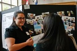 The Student Works Symposium gives students a chance to present their research in a professional setting.