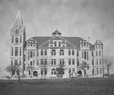 The Cullen Building shortly after construction.
