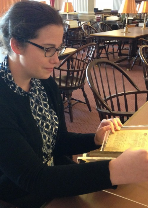 Emily Grover '16, Junior Fellow at the Library of Congress