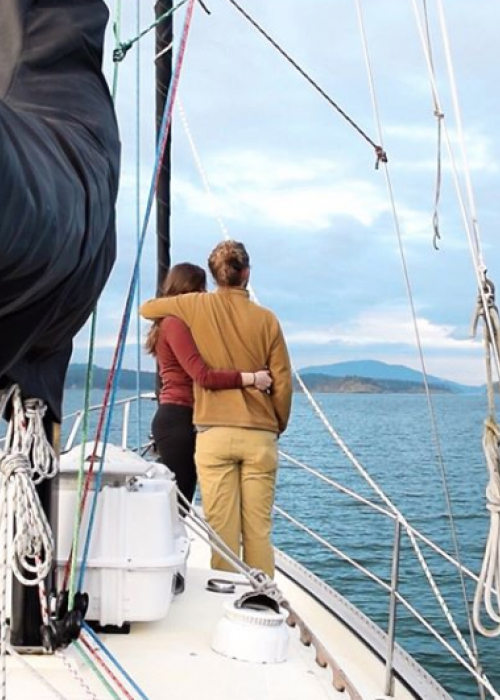 """Cruising in an incredible exercise in team building. Confined living space, stressful situations, moments of pure bliss—it's all a recipe for bringing you closer with your cruising partner/s."""