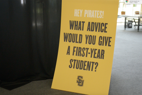 What Advice Would You Give a First-Year Student