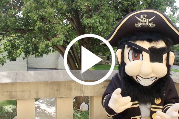 The Captain Urges SU Pirates to Get out the Vote