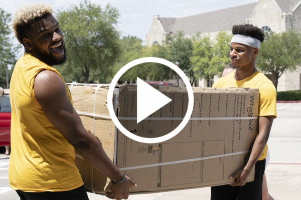 The sights and sounds of Move-in Day 2019.