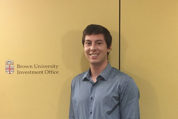 In summer 2018, Welsh embarked on an eight-week internship at the Brown University Investment Office, in Providence, Rhode Island.