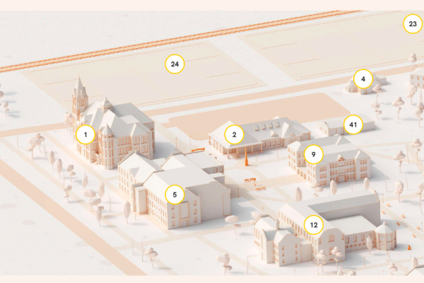 Southwestern University Campus Map