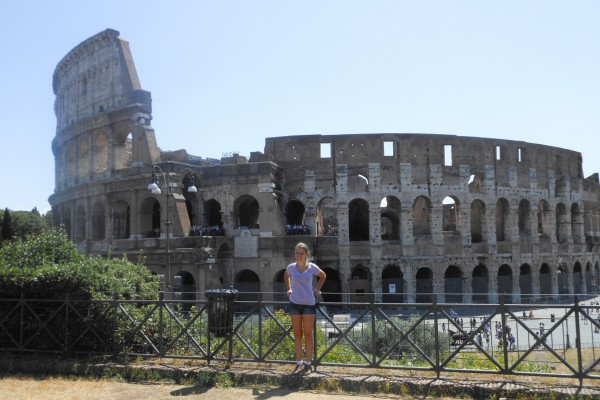 Katy Nave, a junior studio art and art history major, is among the students who plan to take advantage of the May Term courses Southwestern is offering in Italy this year.