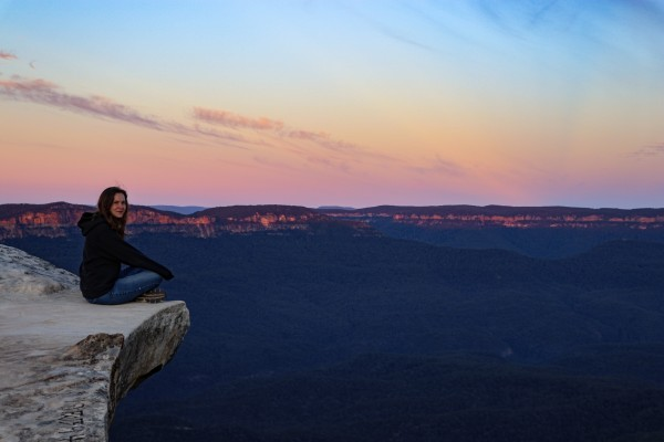 Sunrise at Lincoln Rock in King's Tableland