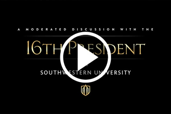 If you missed the announcement of our new president, watch it here.