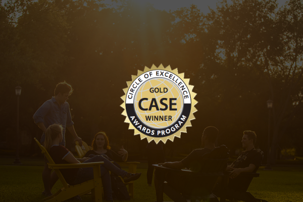 Circle of Excellence CASE Gold Award Winner