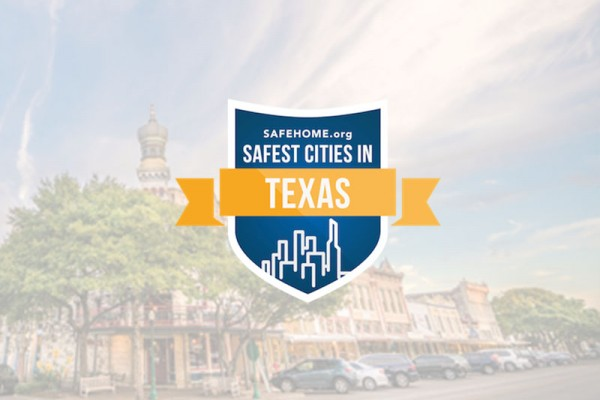 Georgetown ranked No. 3 for safest Texas cities.