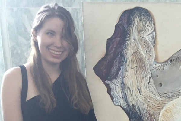 Art and Political Science Major Recognized as One of 15 Emerging Artists with Disabilities