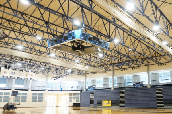 Southwestern partnered with MHSC Energy Management to replace lights in the Robertson Center with LEDs in December 2020.