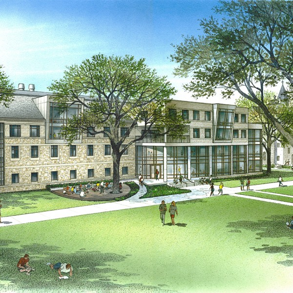 Rendering of Fondren Jones Science Center Phase II
