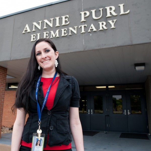 2007 graduate Rebecca Batlan was named the 2013-2014 Teacher of the Year for Annie Purl Elementary School in Georgetown.