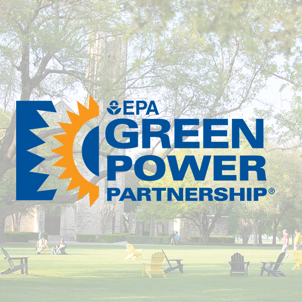 Southwestern University to be recognized as a leader in green energy for the eighth year in a row