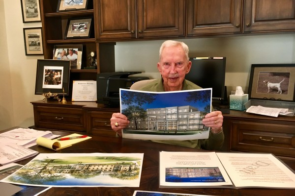 Southwestern Life Trustee Jack Garey, with honor to his late wife Camille Garey, has given $15,000,000 to Southwestern University in support of academic programming, scholarships and high-impact experiences.
