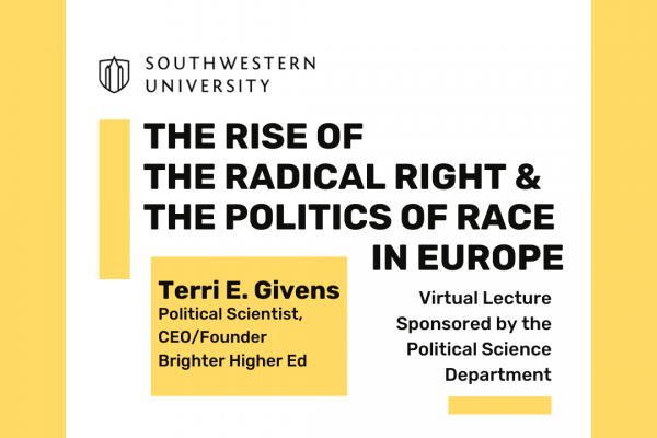 The Rise of the Radical Right and the Politics of Race in Europe