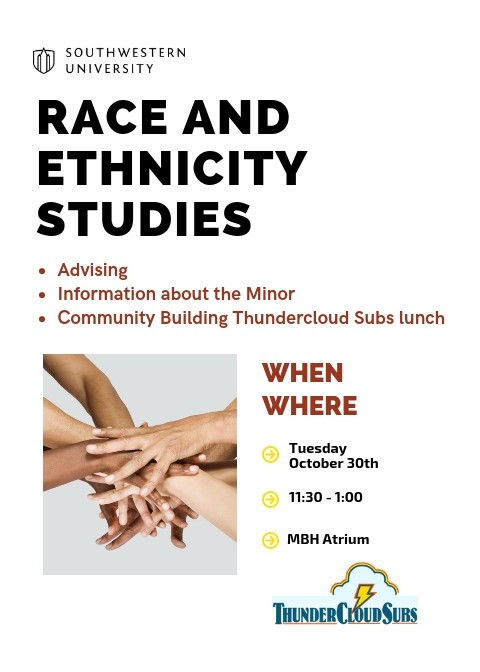 Race and Ethnicity Studies Advising Lunch