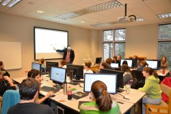 The GIS Lab in Smith Library Center