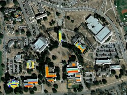 GIS model developed for siting of solar photovoltaics on SU rooftops