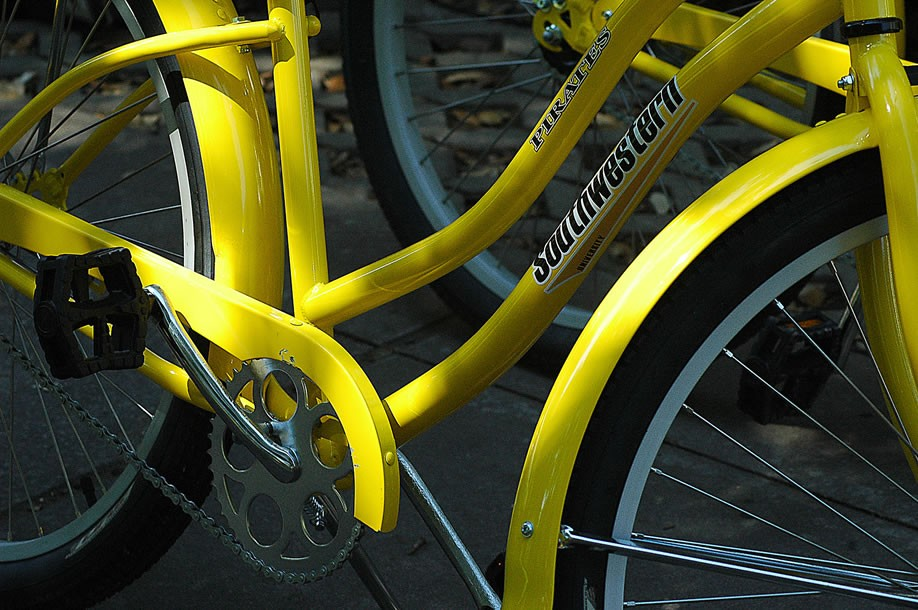 The Pirate Bike Program is the latest means of transportation for students, faculty, and staff on SU's campus.