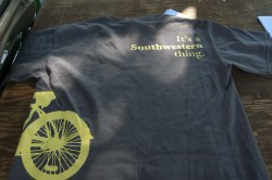 T-shirt designed by Addison English '11