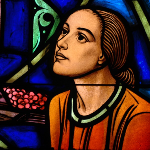 The stained-glass windows of the chapel were manufatured by Payne and Spiers Studio (Baltimore) and Jacoby Art Glass Company (St. Louis). The Chapel windows introduce persons to basic concepts and prominent figures in church history, while also inviting persons into a relationship with the spiritual reality to which they point.
