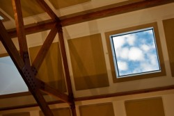 Skylight in the new Admission Center