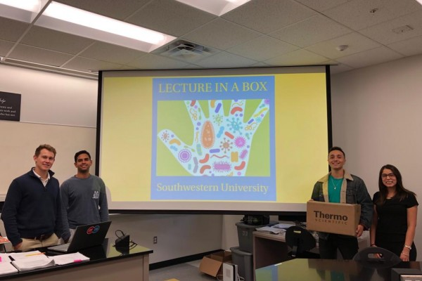 "BRINGING GLOBAL AWARENESS TO ANTIOBIOTIC RESISTANCE THROUGH ""LECTURE IN A BOX"""