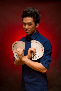 Nationally recognized magician Norman Ng returns to The Cove on November 22nd.